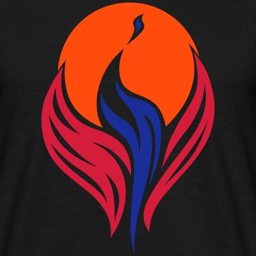 Phönix in 3 Farben - Männer T-Shirt