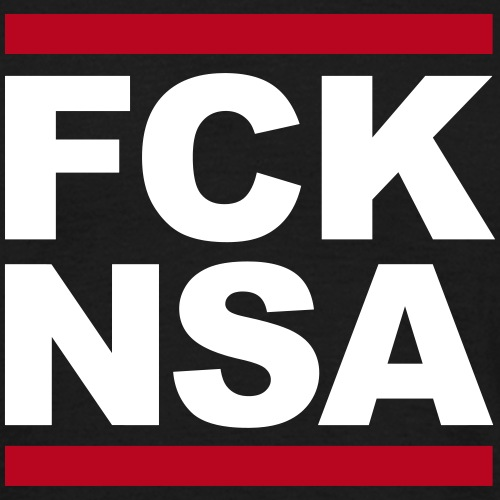 FCK NSA - Männer T-Shirt