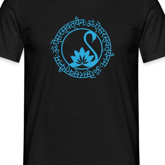 Sarasvati Mantra in Sanskrit Yoga Motiv Yogawear