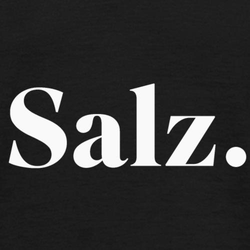 Salz Weiss - Männer T-Shirt