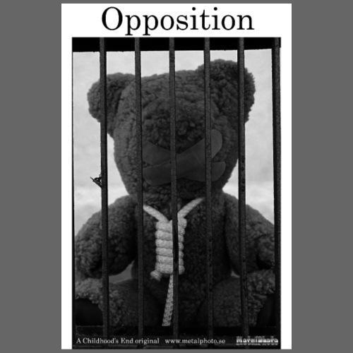 Childhood's End - Opposition - Men's T-Shirt