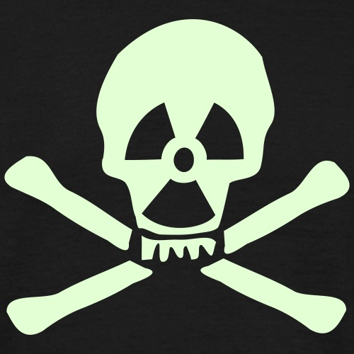 totenkopf nuklear bones - Männer T-Shirt