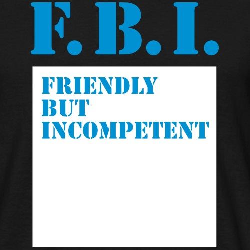 F.B.I. Special Agent USA - Männer T-Shirt