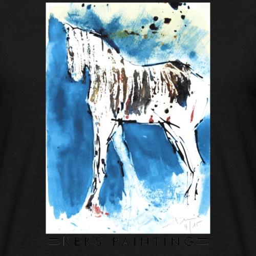 Das weiße Pferd - Männer T-Shirt
