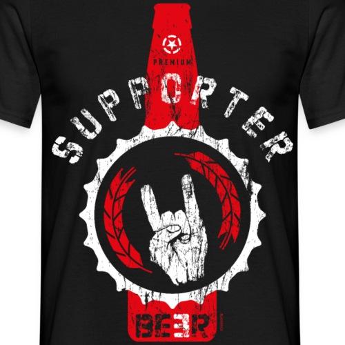 SUPPORTER | BEER - Männer T-Shirt