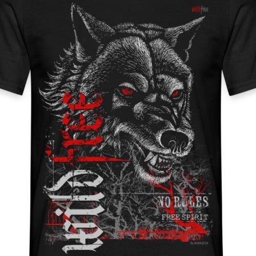 WILDFREE | WOLF - Männer T-Shirt