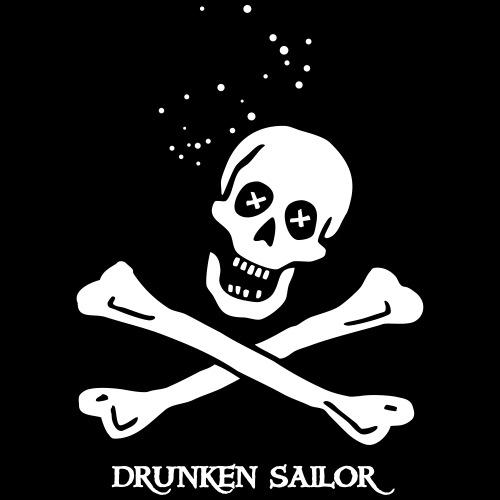 drunken sailor - Männer T-Shirt