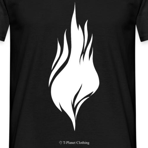 White Flame - Maglietta da uomo