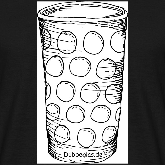 Dubbeglas schwarz frei 20