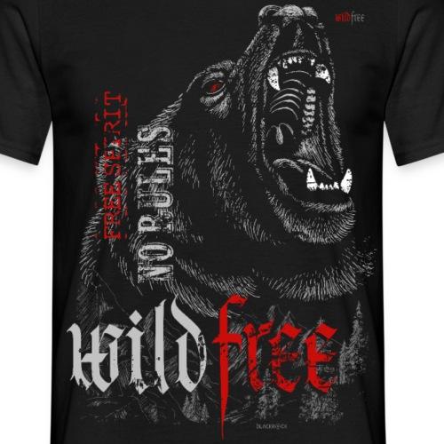 WILDFREE | BEAR - Männer T-Shirt