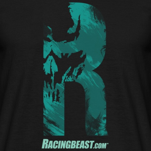 racingbeast_R_vintage-ber - Männer T-Shirt