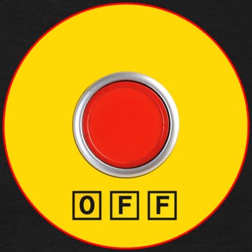 Off Button - Maglietta da uomo