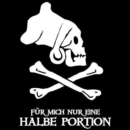 Smutje Halbe Portion - Männer T-Shirt