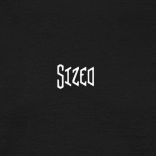 Sized Metall Style - Männer T-Shirt