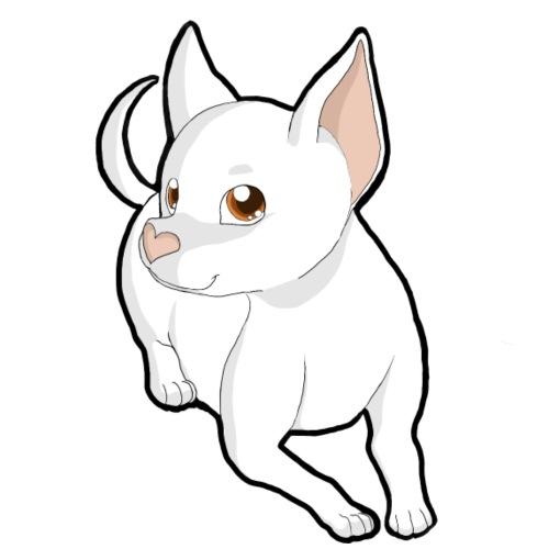 Chihuahua a pelo corto white - Maglietta da uomo