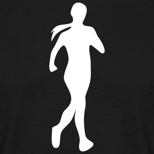 Jogger runner jogging - T-skjorte for menn