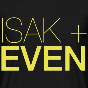 ISAK + EVEN - T-shirt herr
