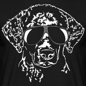 Curly Coated Retriever fraîche - T-shirt Homme