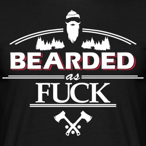 beardasfuck - T-shirt herr