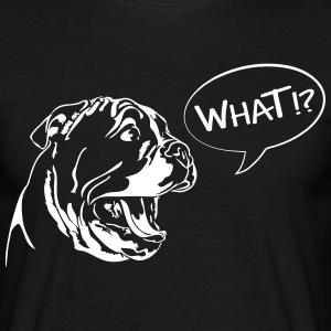 WHAT - English Bulldog Puppy - Männer T-Shirt