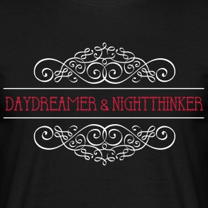 Daydreamer & Night Thinker - Men's T-Shirt