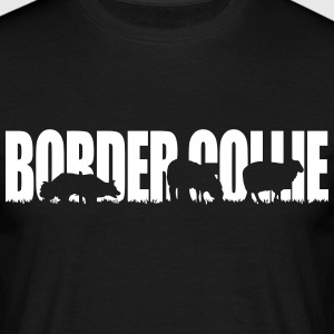 BORDER COLLIE WORKING DOG - Männer T-Shirt