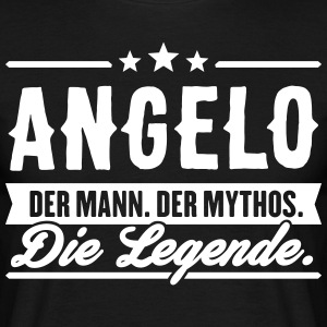 Man Myth Legend Angelo - Men's T-Shirt