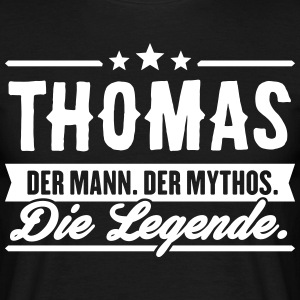 Man Myth Legend Thomas - Men's T-Shirt