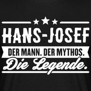 Man Myth Legend Hans-Josef - Men's T-Shirt