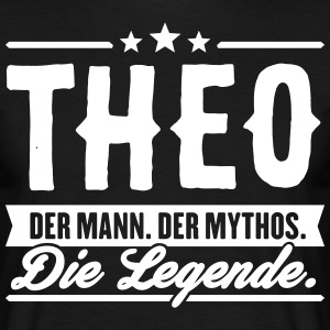 Man Myth Legend Theo - T-skjorte for menn
