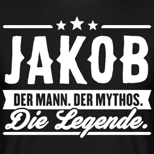 Man Myth Legend Jakob - T-shirt Homme