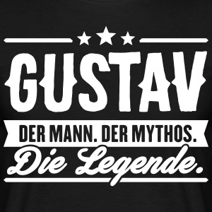 Man Myth Legend Gustav - T-shirt herr