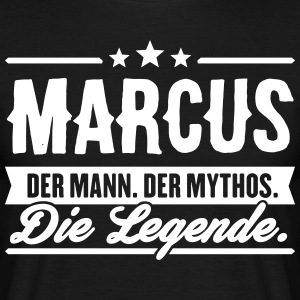 Man Myth Legend Marcus - T-skjorte for menn
