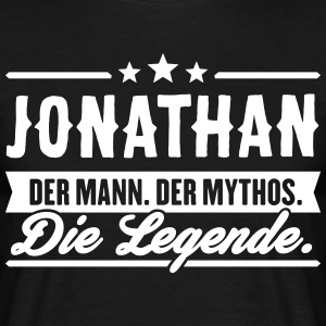 Man Myth Legend Jonathan - T-skjorte for menn