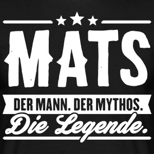 Man Myth Legend Mats - Men's T-Shirt