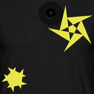 Stars and rotations - Men's T-Shirt