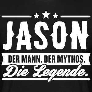 Man Myth Legend Jason - Men's T-Shirt