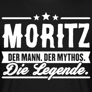 Man Myth Legend Moritz - Men's T-Shirt