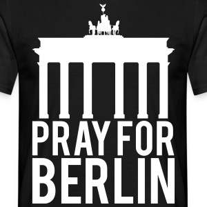 Be for Berlin. Senger for Berlin - T-skjorte for menn