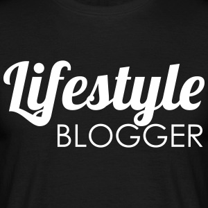 livsstil blogger - T-skjorte for menn