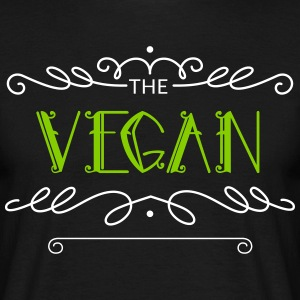The Vegan lifestyle - Write down how long - Men's T-Shirt