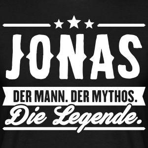 Man Myth Legend Jonas - T-shirt herr