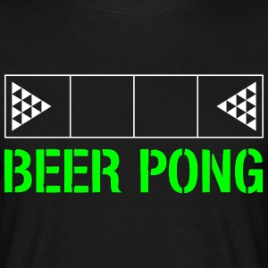 Beer Pong Feld - T-skjorte for menn