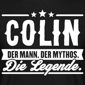 Man Myth Legend Colin - T-shirt herr