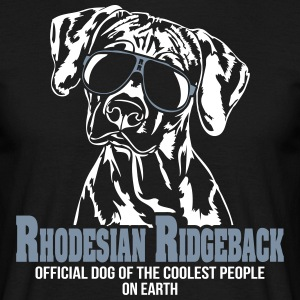 Rhodesian Ridgeback coolest people - Men's T-Shirt