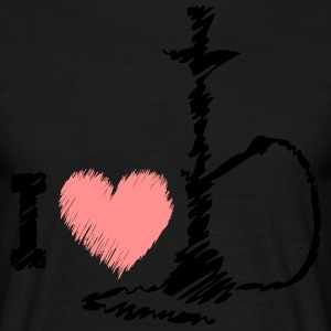 I love SHISHA - Men's T-Shirt