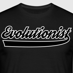 evolutionisten - T-shirt herr