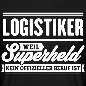 Superheld Logistiker - Männer T-Shirt