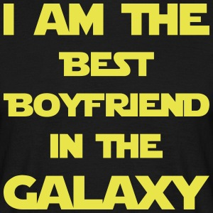 I am the best boyfriend in the galaxy! - Men's T-Shirt