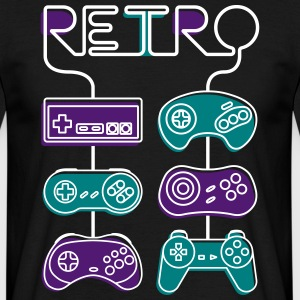 Retro gaming - Men's T-Shirt